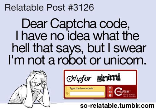 Captcha Code Meme