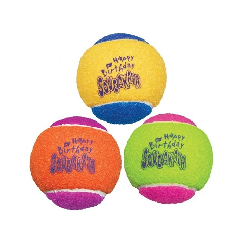 Birthday Tennis Balls