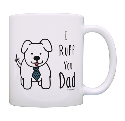 Dog Dad Coffee Cup