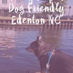 A Day Trip to Dog Friendly Edenton NC