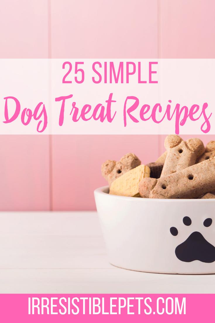 25 Simple Dog Treat Recipes